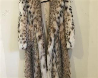 Full Length Lynx Coat $7000.00
