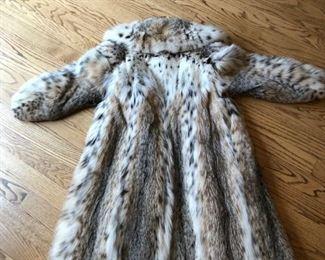 Back of Lynx Coat $7000.00