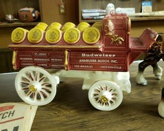 Poppytrail Pottery by Metlox Anheuser Busch wagon and four horses