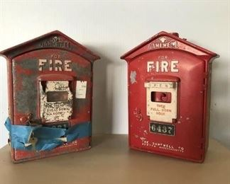 6. Antique Fire Boxes