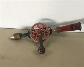 7. Antique Hand Drill