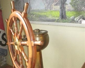 Ships Steering Station