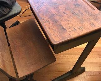 1960's school desk Was $50; now $30