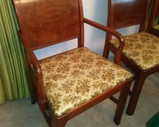 6 Unusual Chairs, also in wonderful condition!!