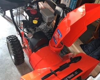 This snowblower may well have never been used! She looks fresh off the lot! She can also handle any snow storm that blows her way!!!