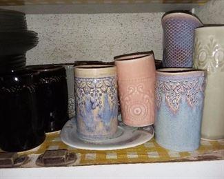 Handmade Pottery Glasses