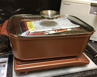 Copper Chef 14-in-1 Multi Cooker Set ( Brand New) Never Used!!!!  Also Copper Chef Induction Cooktop