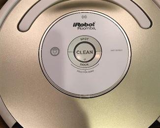 Several IRobot Roomba's