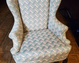 2-Great Wing Back Chairs