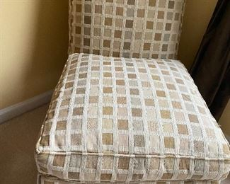 Upholstered chair, excellent condition