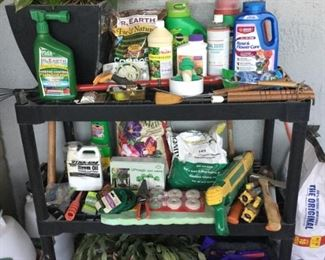 Plants and garden supplies