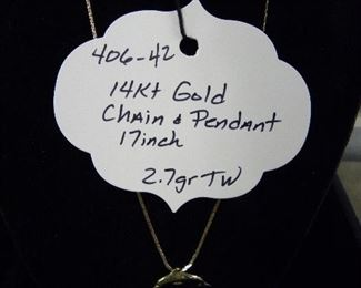 14kt Gold Jewelry