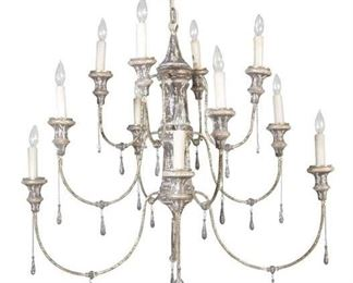 Gabby Durham 12-Light Candle Style Tiered Chandelier