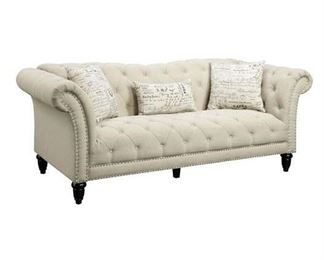 One Allium Way Narcisse Chesterfield Style Sofa