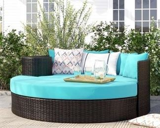 Sol 72 Outdoor Freeport Patio Daybed With Cushion