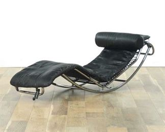 Le Corbusier Style Lc4 Cassina Lounge Chair (No Base)