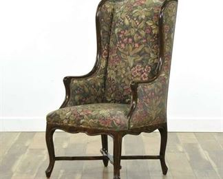 Freman Designs Queen Anne Style Wingback Armchair