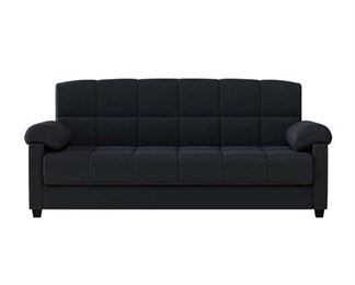 Andover Mills Minter Pillow Top Arm Sofa Bed In Black
