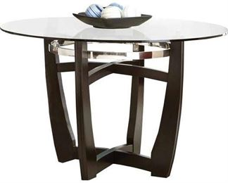 Orren Ellis Maynor Dining Table Glass Top Only