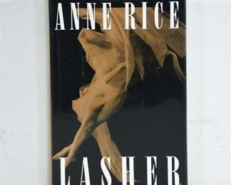 Lasher- By Anne Rice Signed