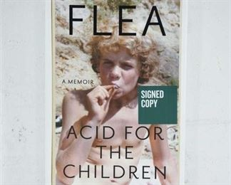 Acid For The Children- By Flea Signed First Edition