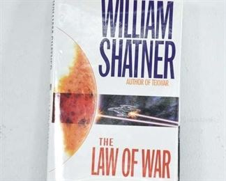 The Law Of War- By William Shatner Signed