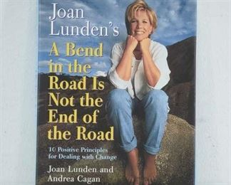 A Bend In The Road- Joan Lunden Signed First Edition