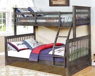 Espresso Paloma Mission Bunkbed (Box 3 Of 3 Only)