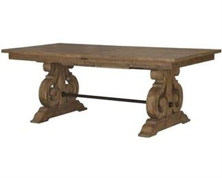 Willoughby Rectangular Dining Table Base Only