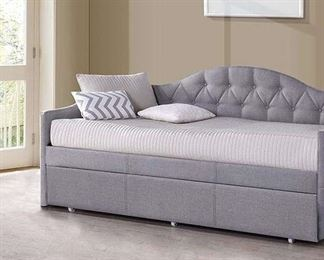 Partial Gray Jamie Daybed (Box 1 Of 3 Only)