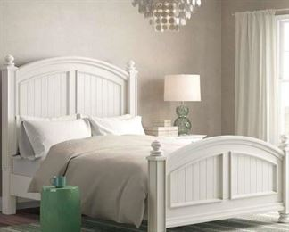 Beachcrest Home Queen Footboard & Slats Only