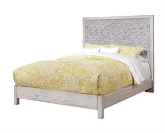 One Allium Way Orellana Cali King Bed Rails Only