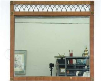 Large Vintage Empire Style Mirror