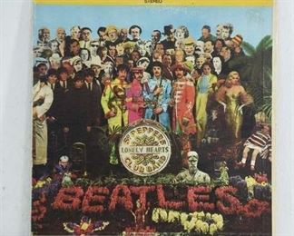 Beatles Sgt. Pepper'S Lonely Hearts Club Band Vinyl Lp