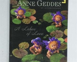 A Labor Of Love Coffee Table Book- By Anne Geddes