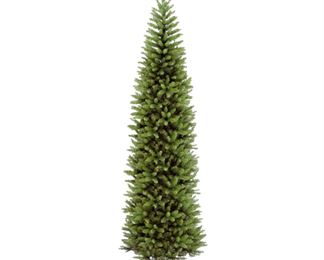 9' Kingswood Fir Pencil Artificial Christmas Tree