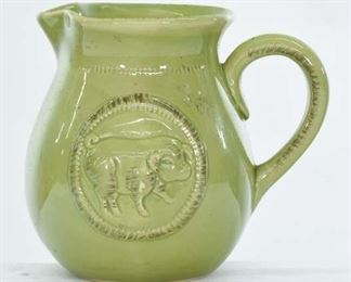 Home Essentials & Beyond Chartreuse Colonial Pitcher
