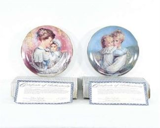 Pair Wj George Mother'S Day Decorative Plates