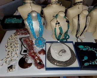 Sterling, Barse, Jay King and Costume  Jewelry