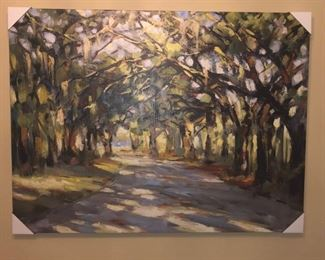 """Ballard Designs Southern Oaks Painting 48""""x36"""". Brand New. I have the box it shipped in."""