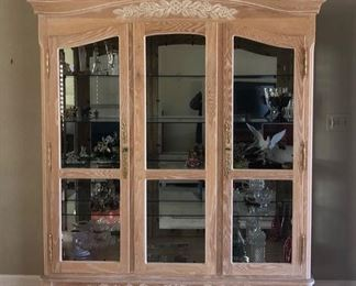 Beautiful French curio cabinet