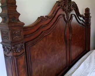 Detail of head board