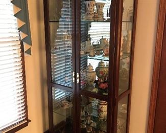 Beautiful Lighted Glass Display Case $ 420.00