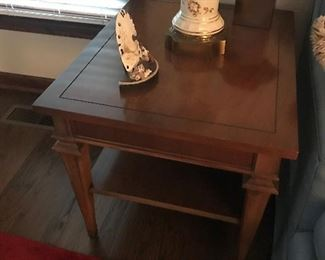 Solid Wood End Table $ 78.00