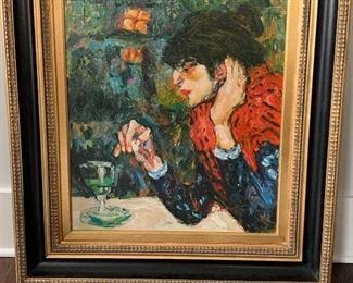 John Peto Oil on Canvas