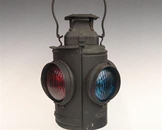 1. Adlake Railroad Signal Lantern