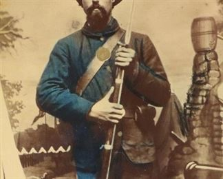 2. Civil War Photo of a Union Soldier