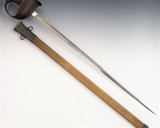 12. Model 1913 Cavalry Sword by Geo. Patton