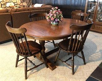 Cochrane Oak Dining Set