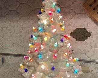 Cermic Musical Christmas Tree